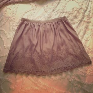 ✨SALE TODAY✨ Vintage Forever 21 Pink Lace Skirt